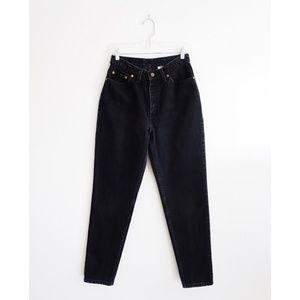 Vintage Levi's 512 Black High Waist Slim Fit Jeans